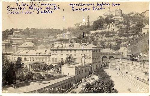 Porta s tommaso foto storiche genova alice hca - Genova porta principe ...