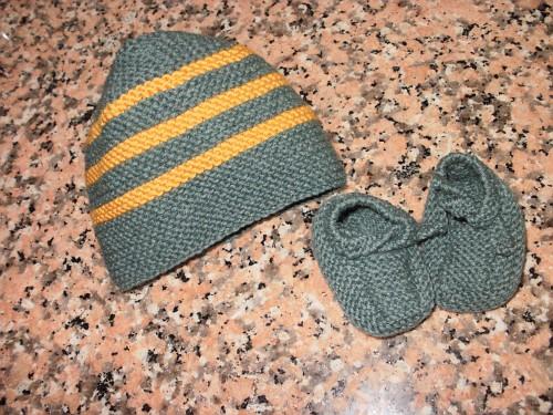 cappellino e scarpine
