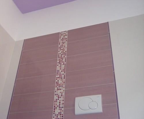 Posa rivestimento mix piastrelle mosaico vetro colorato creazioni - Posa piastrelle mosaico ...