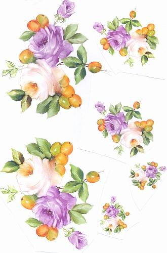 rose e lamponi