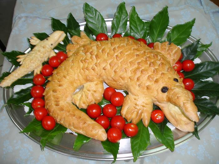 Foto decorazioni intagli di frutta e verdura - Decorazioni con frutta essiccata ...