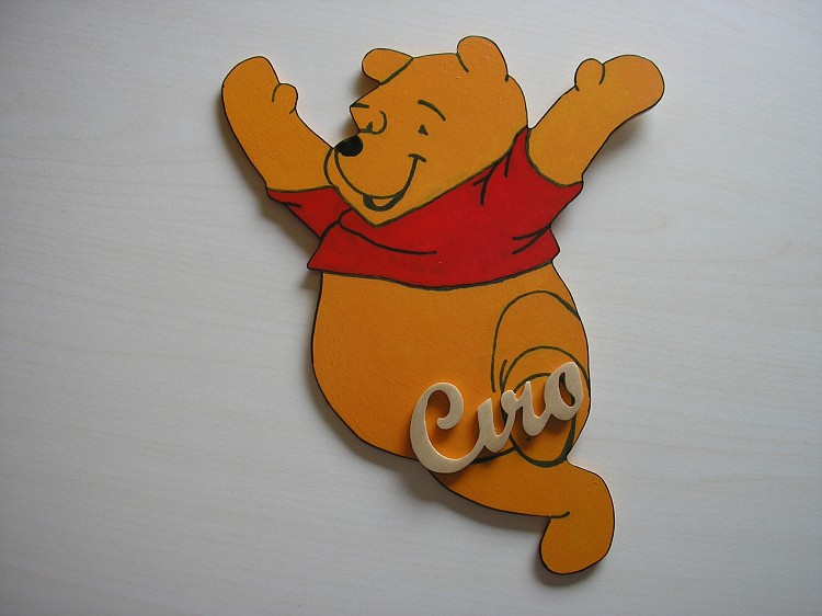 Winnie the pooh sagome personaggi dei cartoni animati
