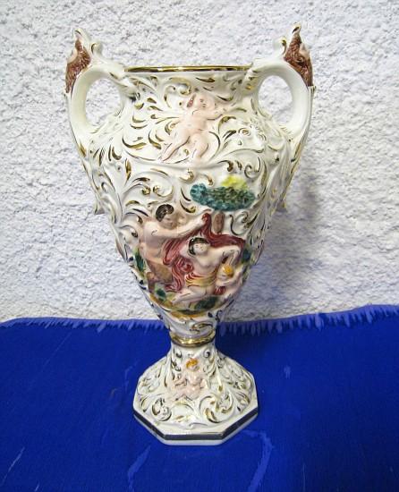Vaso capodimonte a vasi ellelory for Vaso capodimonte