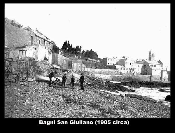 Bagni san giuliano circa 1905 lastre fotografiche lucaboggio - Bagni chimici genova ...