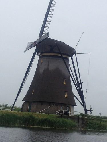 Kinderdijk, mulini a vento