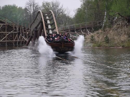Efteling Barca in acqua