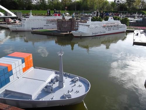 madurodam - Container al porto di Rotterdam