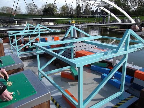 madurodam - Container al porto di Rotterdam Gioco