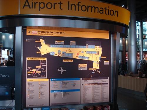 Amsterdam Shiphol Area Informazione