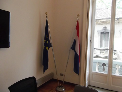 Consolato Generale del Regno dei Paesi Bassi - Sala Riunioni Bandiere