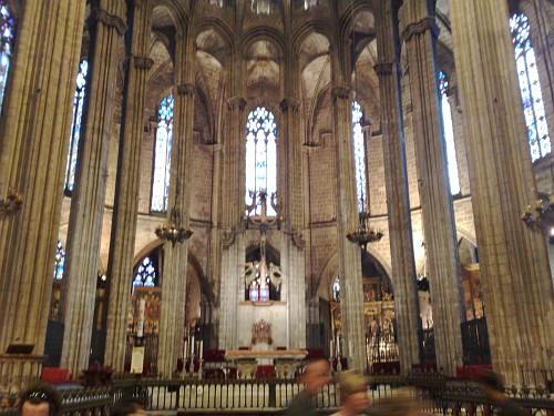 Cattedrale di barcellona viaggio a barcellona loupen69 for Viaggio a barcellona