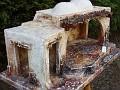 capanna stile arabo con cannucce 65x36h14 imm.14