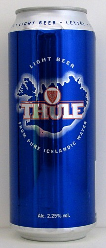 Thule 1664 islanda beer cans collection for Thule 1254