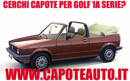 capote cappotta capotta volkswagen golf 1a serie cabrio epoca ricambi. Black Bedroom Furniture Sets. Home Design Ideas