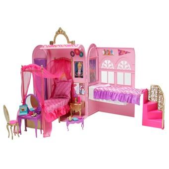 Mattel v6823 barbie principessa camera da letto e bagno barbie - Letto barbie prezzo ...