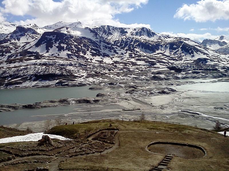 Lago del moncenisio praticamente vuoto 1 moncenisio for Cabine del lago vuoto