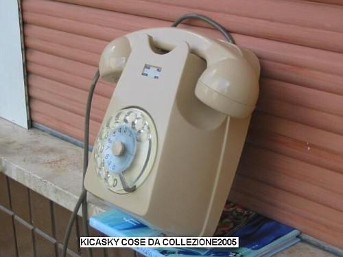 Telefono da parete beige 2 vecchi telefoni sip - Telefoni a parete ...