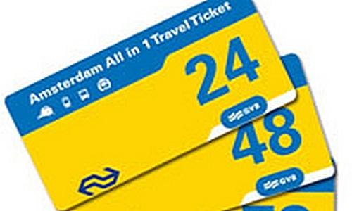 Amsterdam, il biglietto ALL IN ONE