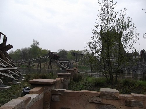 Efteling Montagne russe in legno