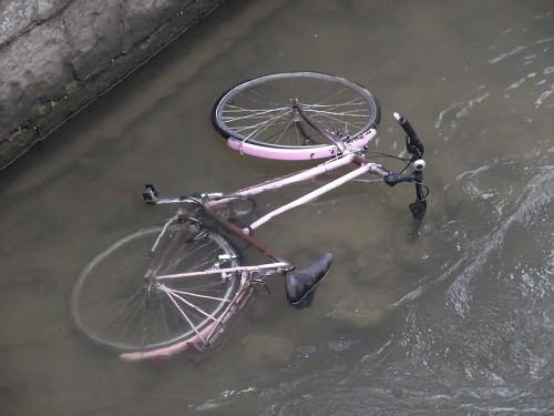 Bici in acqua