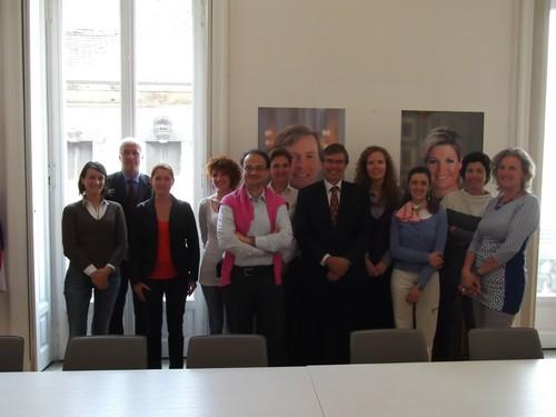 I Collaboratori del Consolato Generale del Regno dei Paesi Bassi