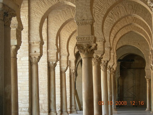 Tunisia Moschea Kairouan Della Moschea di Kairouan