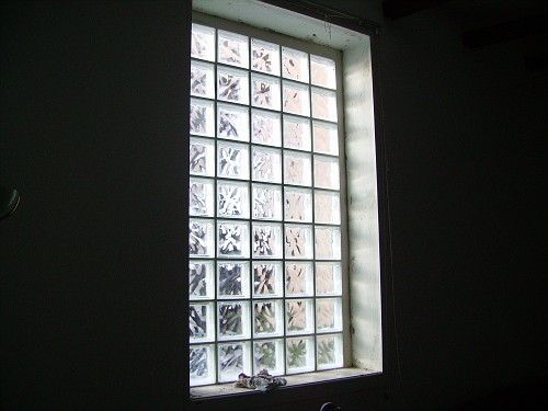 Finestra vetrocemento rifacimento totale bagno edilgio - Finestra in vetrocemento ...