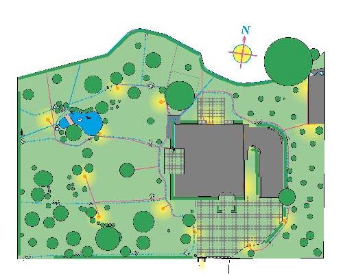 Planimetria giardino casa for Planimetria giardino